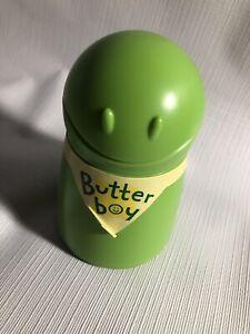 Talisman Butter Boy Vintage Green Corn on Cob Spreader Keeper Picnic BBQ Parties