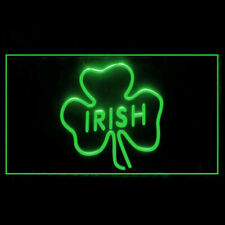 170040 Irish Pub Shamrock Bar Beer Heritage Blesses Display Led Light Sign