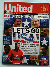 No 131 Manchester United Official Magazine August 2003