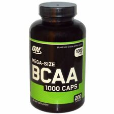 Optimum Nutrition BCAA 1000 CAP Branched Chain Amino Acids 200 Capsules