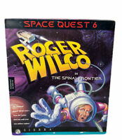1995 SPACE QUEST 6 ROGER WILCO IN THE SPINAL FRONTIER BIG BOX PC GAME