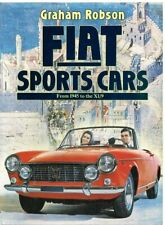 FIAT 1100S 8V 2300S 850/124/DINO COUPE SPIDER 130 X1/9 '45-83 MODEL HISTORY BOOK