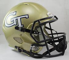 GEORGIA TECH YELLOW JACKETS NCAA Riddell SPEED Full Size Replica Football Helmet