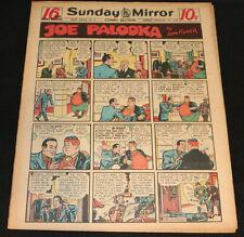 1950 Sunday Mirror Weekly Comic Section February 12th (Vf) Superman Bob Hope App