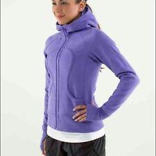 Lululemon Womens Size 4 Scuba Hoodie II Power Purple