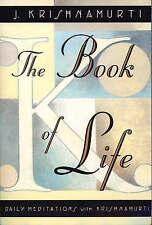 NEW The Book of Life: Daily Meditations with Krishnamurti by Jiddu Krishnamurti