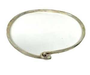 "James Avery Sterling Silver Hook On Wire Bracelet 7"" (8.4G)"