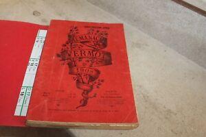 almanach vermot de 1908, exemplaire broché
