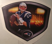 "Tom Brady FATHEAD Official Player Shield 23"" x 19"" Patriots NFL Wall Graphics"