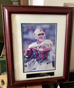 Peyton Manning Signed Framed Photo - TENNESSEE/COLTS -