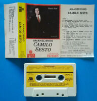 MC Musicassetta Camilo Sesto Amaneciendo 1980 pop ARGENTINA no cd lp dvd 45