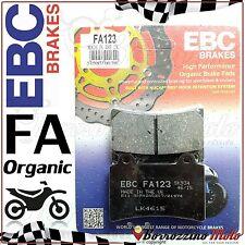 PASTIGLIE FRENO ANTERIORE ORGANICHE EBC FA123 YAMAHA TDM 850 1999 2000 2001
