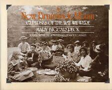 A NEW BRUNSWICK ALBUM: Glimpses of the Way We Were – Many Old Photos 1987 Hcv DJ
