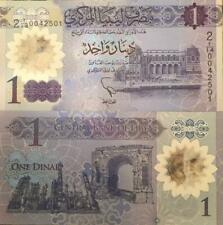 LIBYA 2019 1 DINAR POLYMER PLASTIC UNCIRCULATED NOTE NEW BUY FROM A USA SELLER