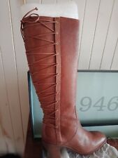 NWT! Fabulous Bernardo leather boots from Saks 5th Avenue in box