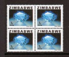 Block Zimbabwean Stamps (1965-Now)