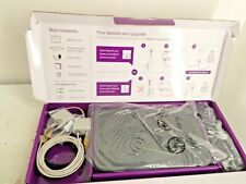 More details for talktalk router boxed with power & broadband cables, micro filter & manual d26