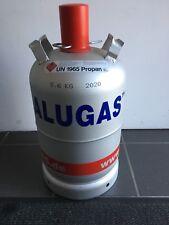 Neue ALU Gasflasche Camping Propangas 11kg geprüft bis Ende 2028.Gasgrill,Alugas