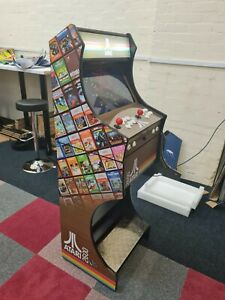 Atari Themed Arcade Machine  2 Player -3188 Games +Free UK Delivery