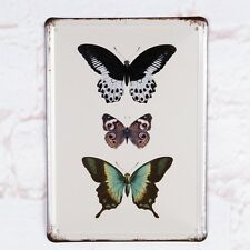 Black Series Butterfly Metal Tin SignRetro Home Pub Bar Wall Decor Art Poster