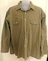 Men's Polo Ralph Lauren Hulton Long Sleeve Button Front Shirt Size XXL