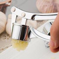 Garlic Press Crusher Mincer Chopper Peeler Squeeze Cutter Stainless Steel GingWF