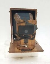 Antique circa 1905 Wunsche Knox 9x12 German Wooden Camera Rare
