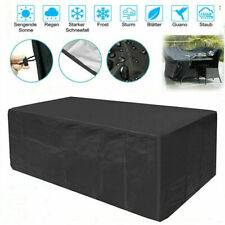 Waterproof Patio Furniture Cover Rectangular Outdoor Garden Rattan Table Cover
