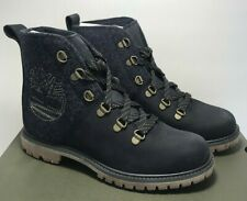 Timberland Womens Size 8 Authentics D-Ring Navy Hiker Boots Shoes TB0A1SGM