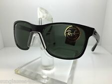 AUTHENTIC RAYBAN RB 4181 6130 57MM RAY BAN RB4181 6130 BLACK CLEAR/GRADIENT LENS
