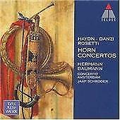 Haydn, Danzi, Rosett: Horn Concertos (2001) CD Hermann Baumann; Jaap Schroder