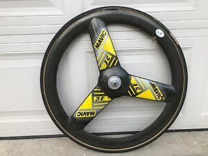 Mavic 3G Carbon 700cm Front Track Wheel