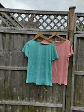 New listing 2   Sykooria Tops for gym / Running / yoga. Size XL. Green and orange.