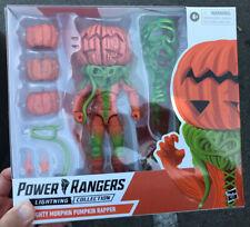 """Power Rangers Lightning Collection 6"""" Pumpkin Rapper Sealed New Mmpr Villain"""