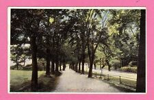 Vintage postcard. The Promenade . Bristol. Pre 1918.