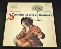 3 LP The Shakespeare Recording Society Inc. 242 Songs From Plays Of Shakespeare