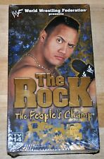 NEW! WWF The Rock The Peoples Champ (VHS, 2000) Dwayne Johnson Wrestling Video