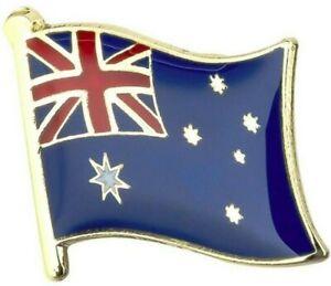 Australia Flag Badge Lapel Pin Aussie Flag Enamel Tie Pin Anzac Day Brooch