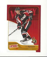 2011-12 Upper Deck Victory Red #132 Erik Karlsson Senators