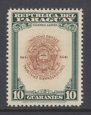 Paraguay Sc C175 MLH. 1948 10g Episcopalian Anniversary, inverted center, rare.