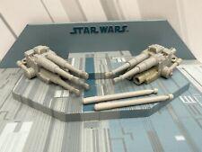 Star Wars Legado Halcón Milenario Suelto Completo cañones láser