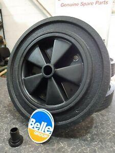 Genuine Belle Minimix Cement Concrete Rubber Wheel C/W Free Retainer