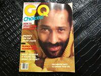 APRIL 1983 --- GQ vintage mens fashion magazine RASHID SILVERA