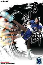 SUPER DUCK 1/6 STREET FIGHTER Chun-Li Head A Sculpt Suit Set For Phicen pre-orde