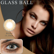 1 Pair Big Eye Charming Colored Contact Lenses Unisex Cosmetic Tool Commode