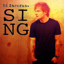 Parche /Iron on patch, Back patch, Espaldera/- Ed Sheeran, Sing