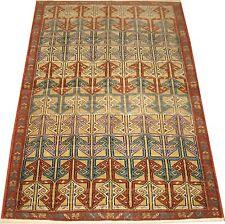 Antique Mysterious Golden Turkish Melas Caucasian? Shirvan Rug Size 3'7''x5'7