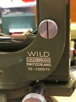 Autocollimation Theodolite Wild T2 Swiss Surveyor Lab Testing