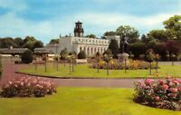 Vintage Staffordshire Postcard, The Gardens, Trentham HN7