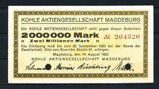 Magdeburg-carbón AG - 2 millones de marcos (AB)